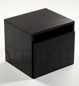 Тумба стационарная для парикмахерской VM610 ДСП Swisspan Дуб Венге (Velmi TM)