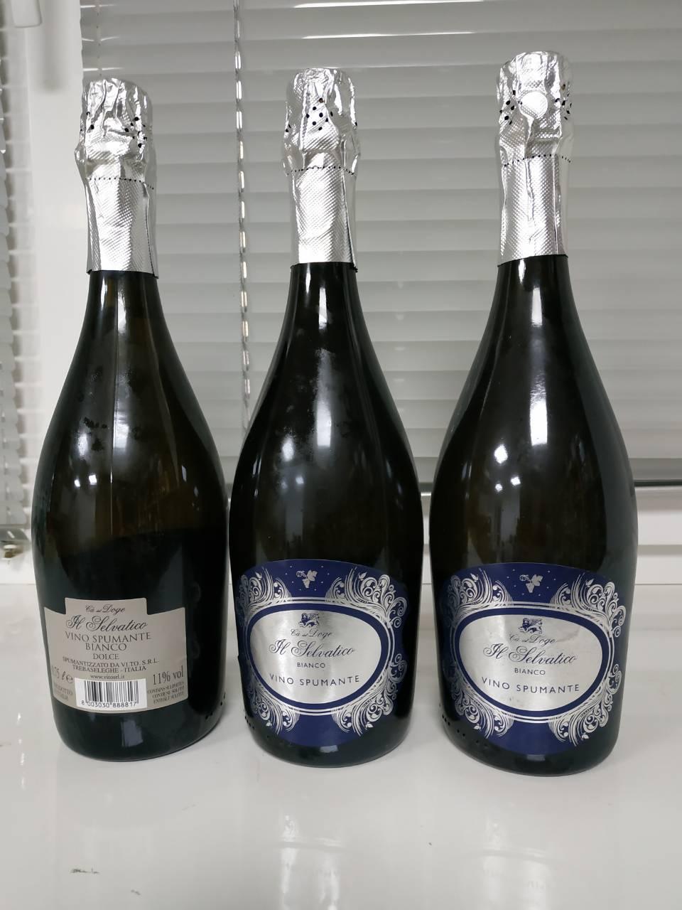"Вино игристое белое сладкое ""Il Selvatico Spumante"" Dolce 11% 0,75л"