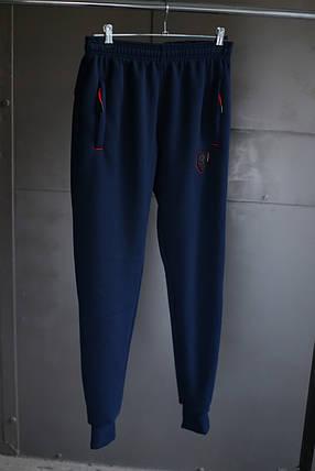 Мужские зимние брюки puma ferrari на флисе с манжетом, фото 2