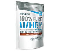 Сывороточный протеин BioTech - 100% Pure Whey (454 грамм) 454 г, banana/банан, Венгрия, пачка, 20,125 гр