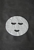 Маски-салфетки косметологические с отверстиями для глаз и рта Doily (50 шт\пач) из спанлейса
