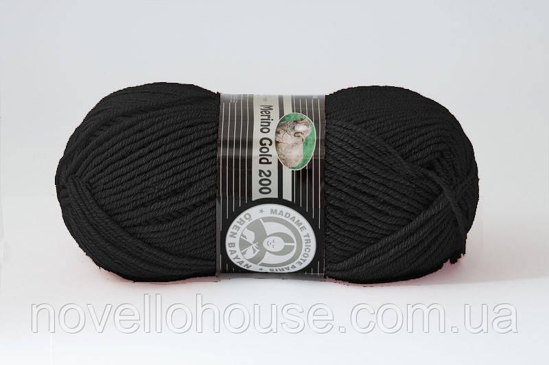 Madame Tricote Merino Gold 200 M полушерстяная пряжа для ручного