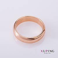 XUPING Кольцо обручальное b-5,5mm гладкое р-р 22,23