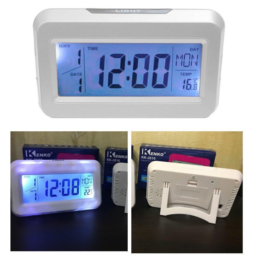Багатофункціональні говорять годинник-термометр kk-2616