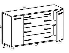 Комод для хранения вещей К-4, фото 3