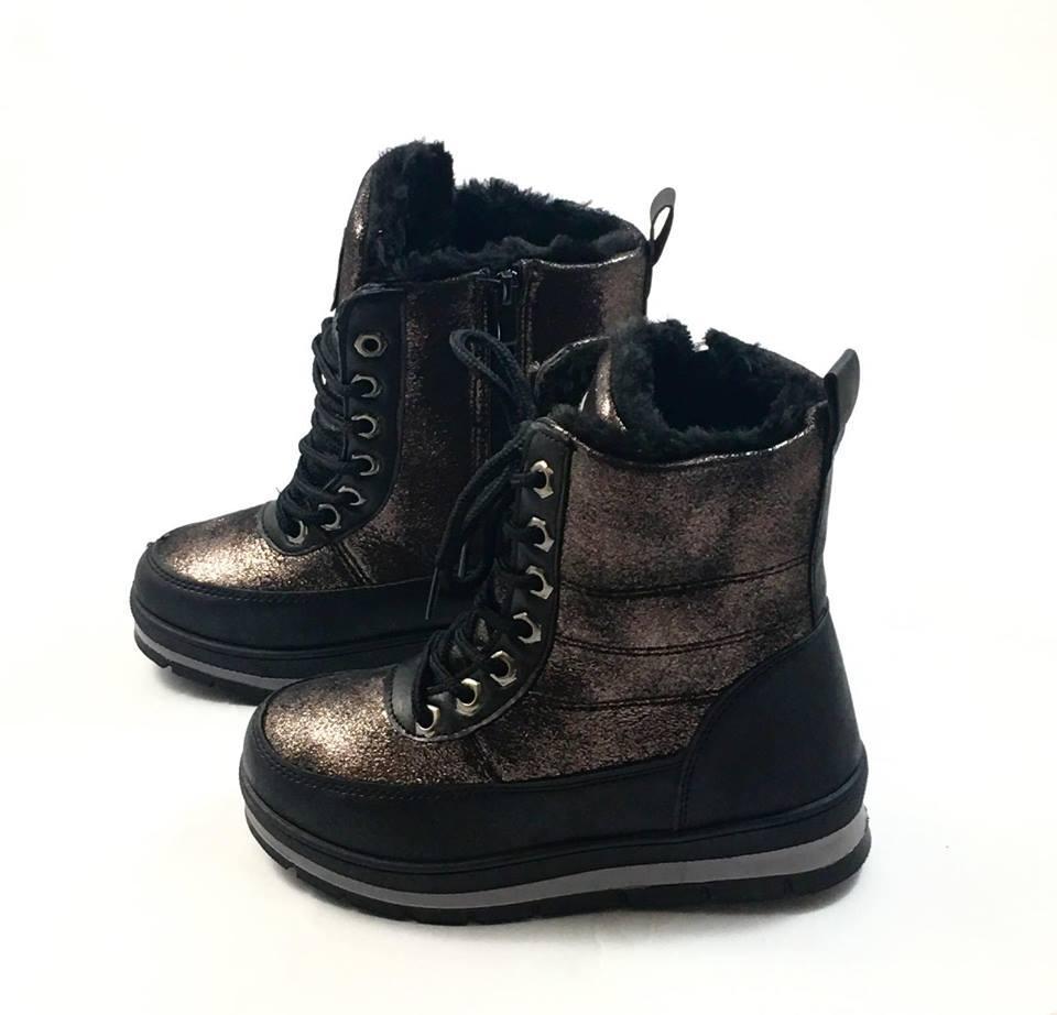 Зимние ботинки для девочки Clibee Тиара 2058 (р.30)