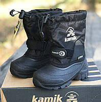 d04ae615d861 Водонепроницаемые снегоходы KAMIK (Канада) р 25, зимние детские сапожки