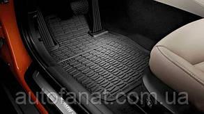 Комплект оригинальных ковриков салона для BMW X1 (E84) (51472336797 / 51472336795)
