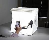 Photobox, Лайтбокс з LED Підсвічуванням для Предметної Зйомки 30х32х30см, фото 1