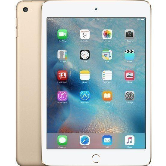 Apple iPad Mini 4 WiFi + Cellular 128Gb Gold (MK8F2, MK782) (2015)