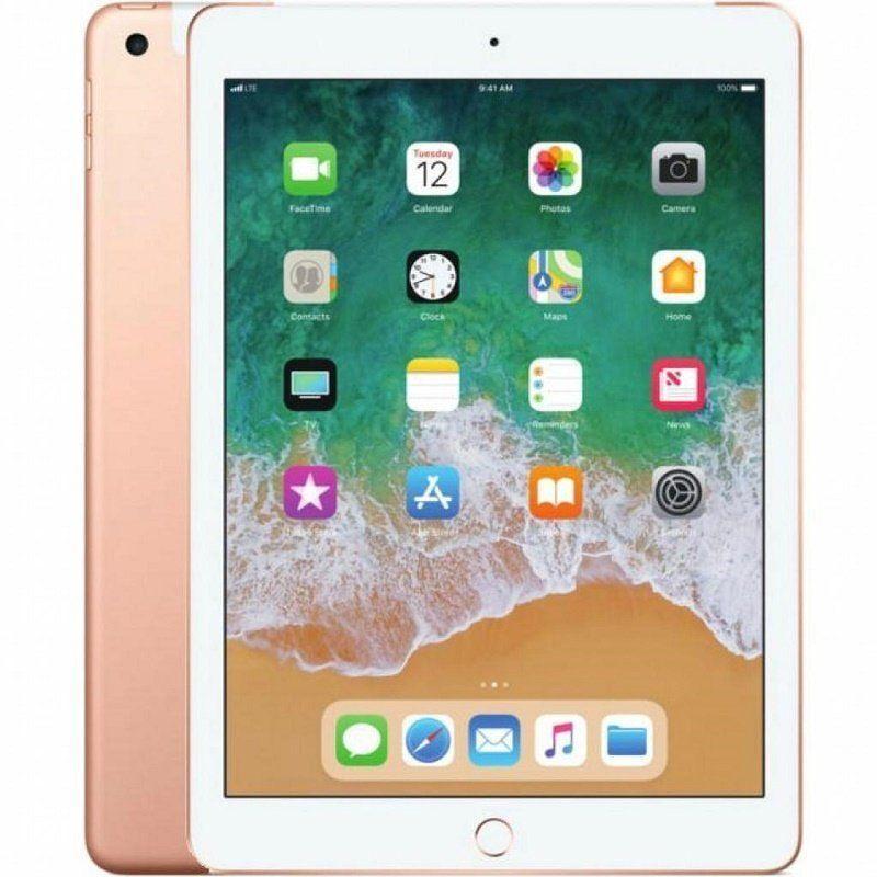 Apple iPad WiFi + Cellular 128Gb Gold (MRM22) (2018)