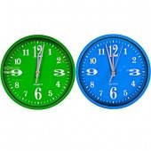"""Настенные часы """"Круг цветной циферблат"""" 24,5*4см 562J3"""