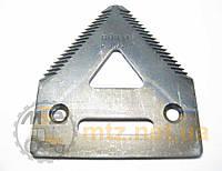 Сегмент ножа жатки John Deere H136807 (Z93077)