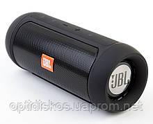 Bluetooth портативная колонка Charge 2+, черная