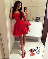 "Шикарное платье ""Фатин"", фото 1"