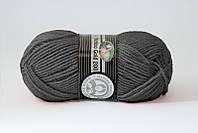 Madame Tricote Merino Gold 200 № 009 темно-сірий