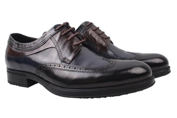 Туфли Roberto Paulo натуральная кожа, цвет синий