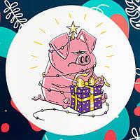 Новогодние подарки в год Свиньи 2019