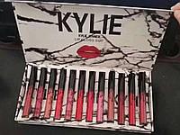 Набор матовых помад Kylie Jenner Lip Gloss Suit 12 штук