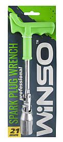 Ключ свечной WINSO 148800 проф. с усиленной ручкой 21мм