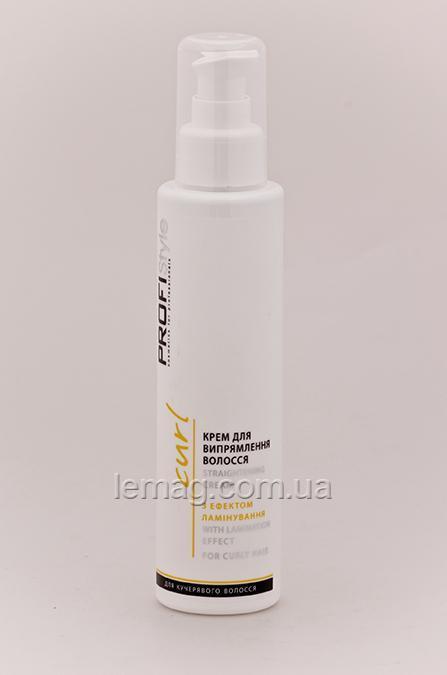 Вики Profistyle Крем для выпрямления волос с эффектом ламинирования, 150 мл