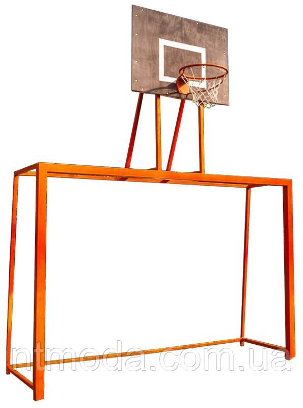 Ворота для минифутбола с баскетбольным щитом. ВМФ-002-1