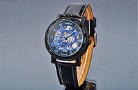 Механические наручные часы,скелетон, Winner Skeleton, м-007
