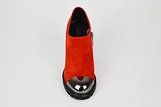 Женские красные ботинки Balidoner 213, фото 3