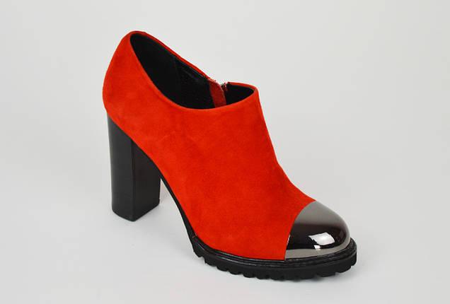 Женские красные ботинки Balidoner 213, фото 2