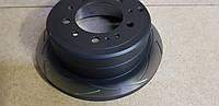 Диск тормозной задний DBA  T2 Slot 789S  для Toyota LC100 / LX470 330/18/103/110, фото 1