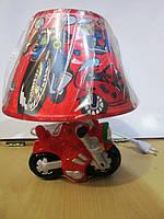 Оригинальные подарки мальчикам. Настольная лампа Мотоцикл