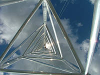 Мачта  алюминиевая трёхгранная M440FL H=28m, фото 1