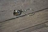 Брелок шолом - інтеграл хром, фото 3