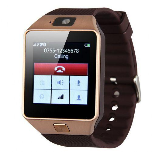 Умные часы Smart Watch GSM Camera DZ09 Gold - Vine
