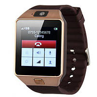 Умные часы Smart Watch GSM Camera DZ09 Gold - Vine, фото 1