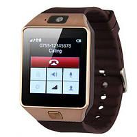 Умные часы Smart Watch GSM Camera DZ09 Gold - Vine