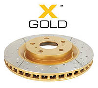 Диск тормозной задний DBA T2  X-GOLD 789X  для Toyota LC100 / LX470 330/18/103/110