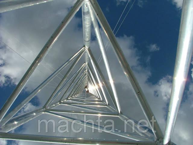 Мачта  алюминиевая трёхгранная M440FL h=20m