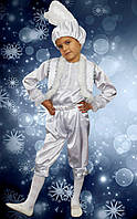 Зайчик белый. 122-128 см. Детские карнавальные костюмы
