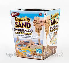 Кинетический песок, набор Squishy Sand 4в1