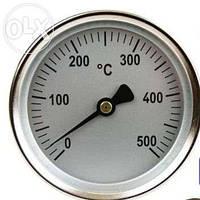 ТЕРМОМЕТР МОНТАЖ Ø 60 ММ T.MAX. 500 ° C 0 ДО + 500 °