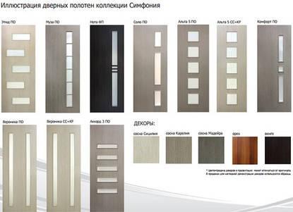 Двері міжкімнатні Оміс колекції Симфонія