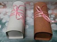"""Оформление коробочки """"Сундучок"""" для упаковки подарка, цвет ленты - любой, фото 1"""