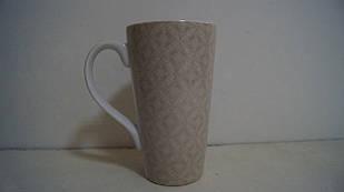 Чашка керамічна бежева