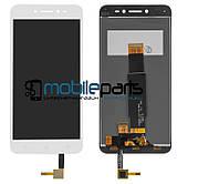 Оригинальный Дисплей (Модуль) + Сенсор (Тачскрин) для Asus Zenfone Live | ZB501KL (Белый)