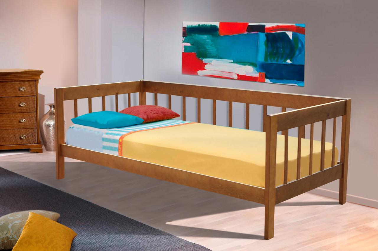 Кровать Малибу (Орех)