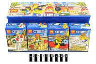 """Конструктор """"CITY"""" """"Парк развлечений"""" (коробка 16шт.) 33,9*16,9*12см /480/ по штучно"""