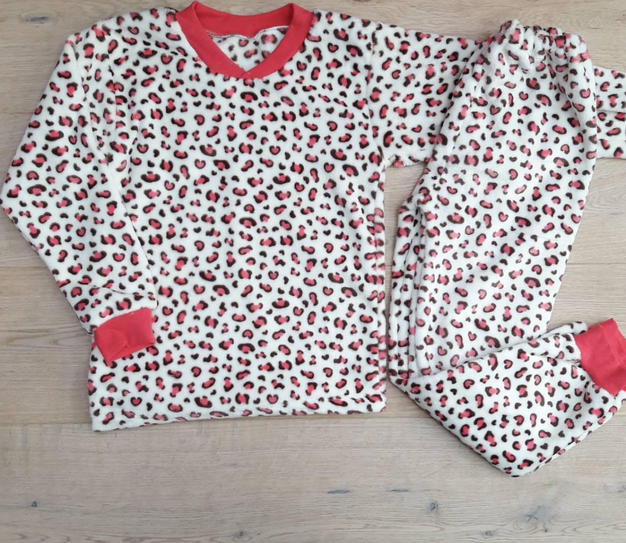 Детская пижама теплая  на девочку  34-40