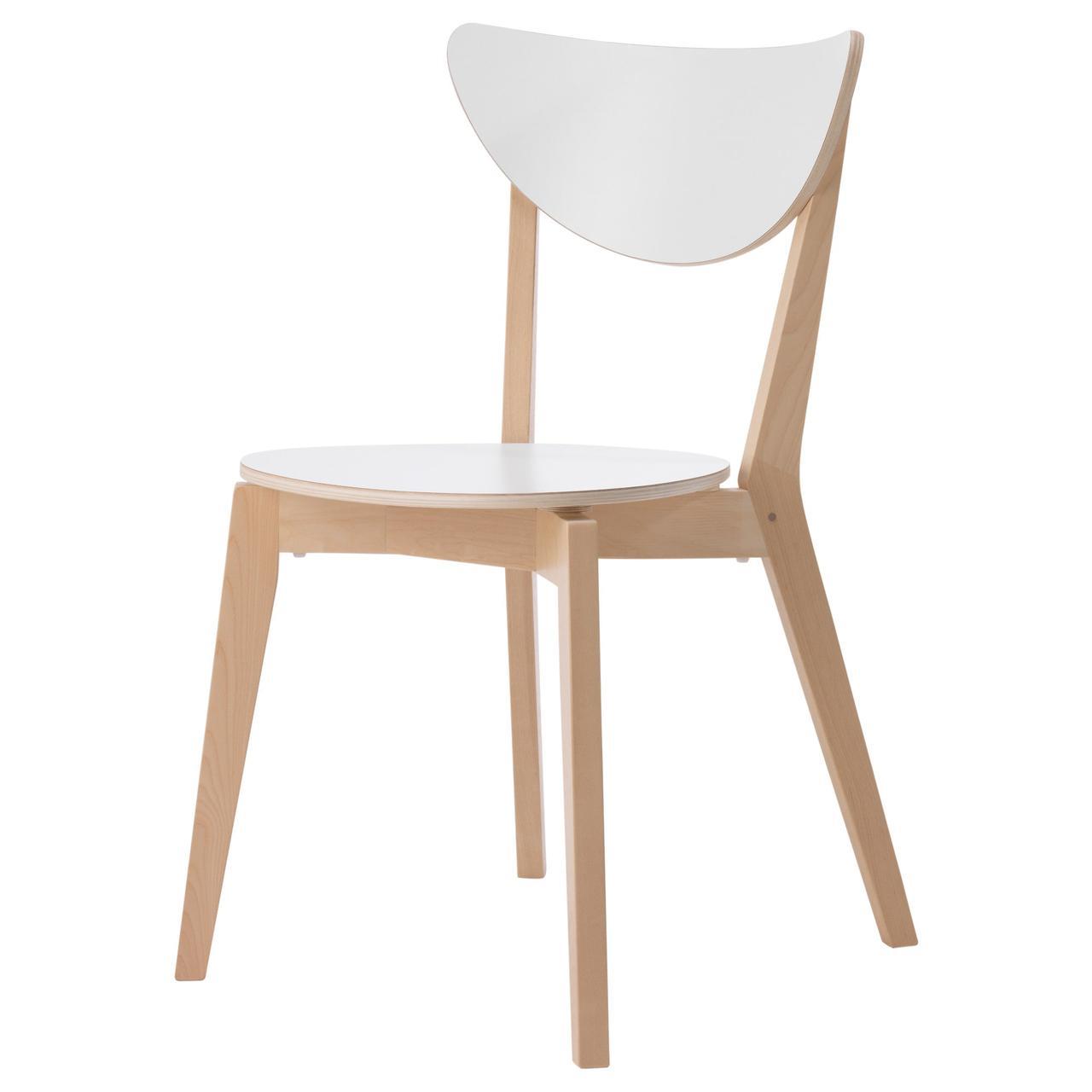 Кресло кухонное IKEA NORDMYRA береза 603.513.11