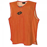 Манишка футбольная Lotto CROSS TANK  FLUO ORANGE S4136